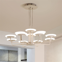 цены Nordic Retro Loft LED Chandelier Bedroom Living Room Restaurant Study Decorative Pendant Lamp Suspension Lighting Fixtures Avize