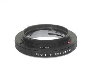 Image 1 - Foleto DKL PK アダプタフォクトレンダー網膜 Dkl レンズペンタックス Pk カメラ K5 K7 K110D カメラレンズマウントアダプタリング