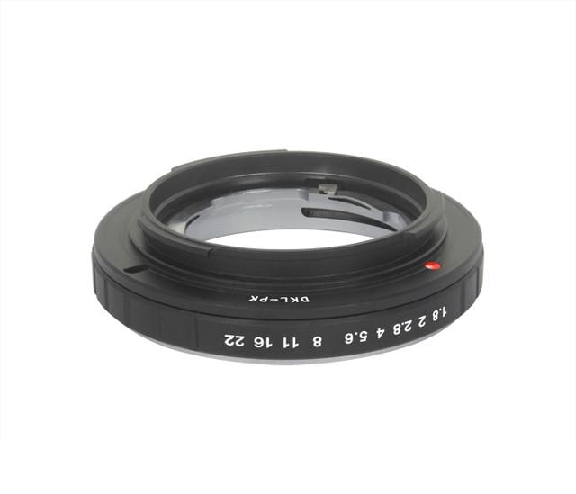 Foleto DKL PK アダプタフォクトレンダー網膜 Dkl レンズペンタックス Pk カメラ K5 K7 K110D カメラレンズマウントアダプタリング
