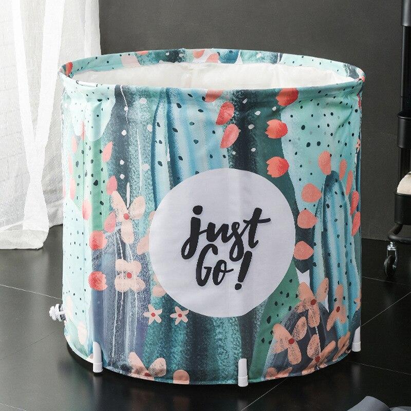 Bath tub adult bath tub household collapsible inflatable bath tub adult large thickened full body bath tub