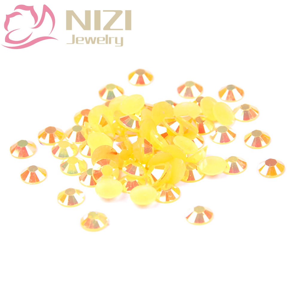 Crystal Glitter Resin Strass Nail Art Rhinestones 2-6mm Orange AB 14 Facets DIY Round Flatback Non Hotfix Stones Decorations gitter 2 6mm citrine ab color resin rhinestones 14 facets round flatback non hotfix beads for 3d nail art decorations diy design