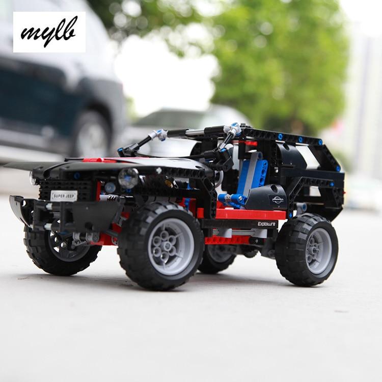 mylb Transport Cruiser SUV 589pcs Modèle De Voiture De Construction - Concepteurs et jouets de construction - Photo 1