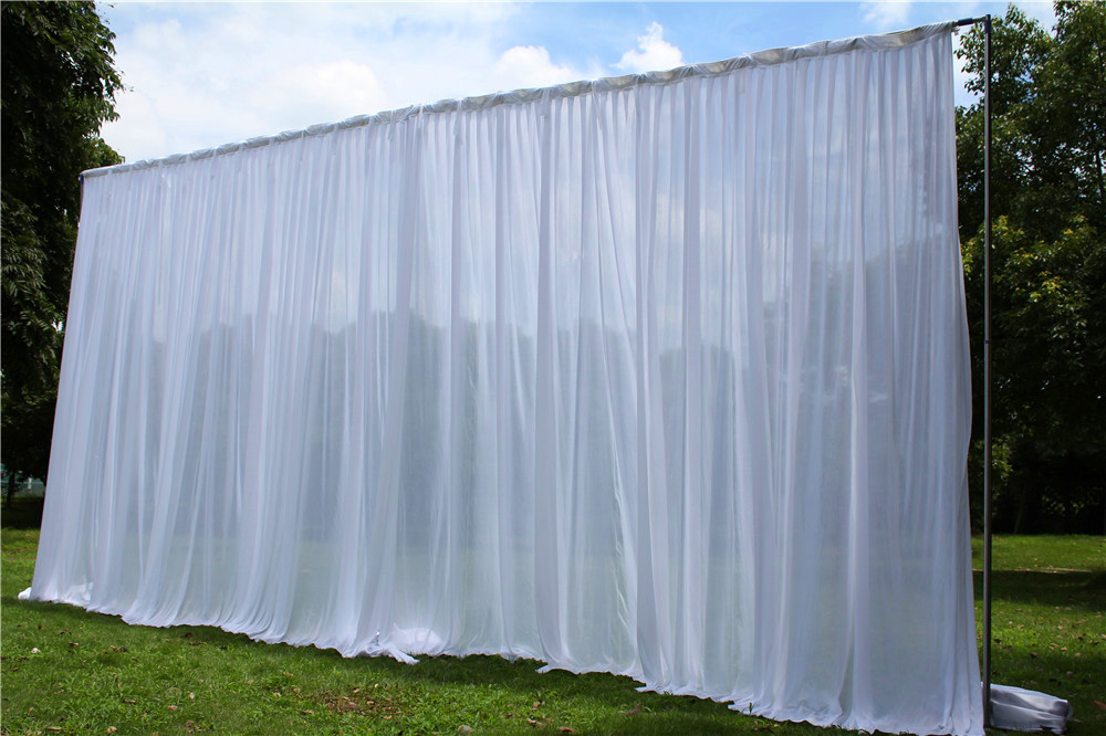 3X6M Wedding Backdrop Curtain Wedding Drapes/Stage Backdrop For Wedding Event&Party&Banquet Decoration(Lycra Chair Cover)3X6M Wedding Backdrop Curtain Wedding Drapes/Stage Backdrop For Wedding Event&Party&Banquet Decoration(Lycra Chair Cover)