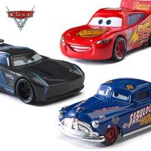 Disney Pixar coches el rey Rayo McQueen Mater Jackson tormenta Ramírez 1:55 fundición de aleación de Metal modelo de juguete para el regalo de los niños