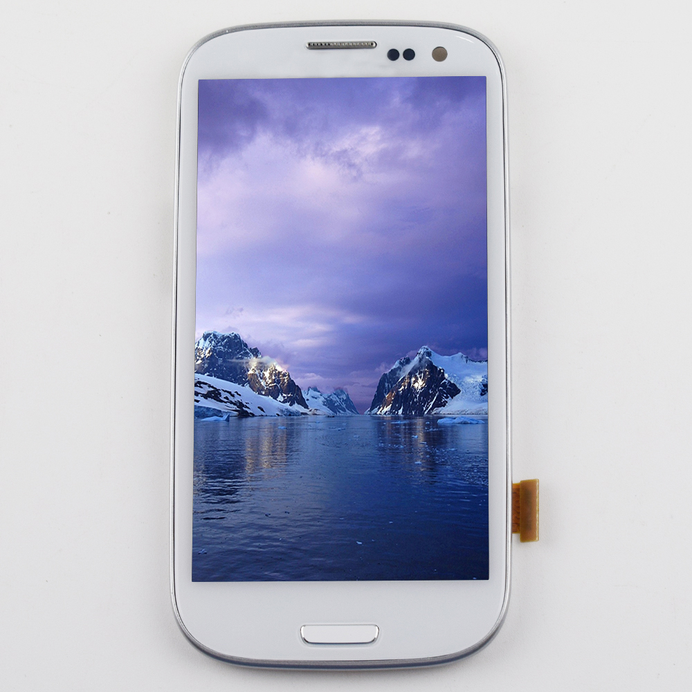 For Samsung Galaxy S3 Neo Lcd Touch Screen Digitizer Assembly Frame For Samsung i9300 Display  i9301 i9300i i9308i i9301iFor Samsung Galaxy S3 Neo Lcd Touch Screen Digitizer Assembly Frame For Samsung i9300 Display  i9301 i9300i i9308i i9301i