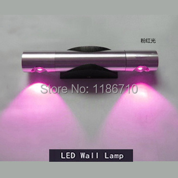 contemporary and contracted 2W LED wall lamp the setting wall of  light bedside lamp lens headlight  corridor lamp