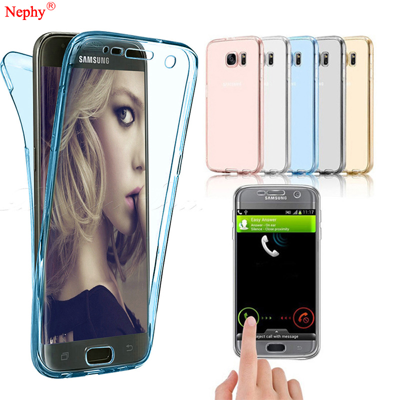 US $1 49 |Nephy Soft Silicone Clear Case For Samsung Galaxy S3 S4 S5 Neo S6  S7 Edge S8 S9 Plus Note 3 4 5 8 9 Duos Mobile Phone Full Cover-in Fitted
