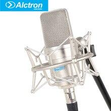 Alctron TL39 3-pin XLR Profissional Estúdio de Gravação Microfone Condensador Cardióide Vocal Com Fio Karaoke Microfone para Performance de Palco