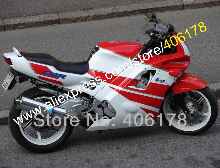Hot Sales,For HONDA CBR 600F2 F2 91-94 CBR600RR CBR600F2 Red White CBR600 F2 1991 1992 1993 1994 91 92 93 94 ABS fairing kit mf2300 f2