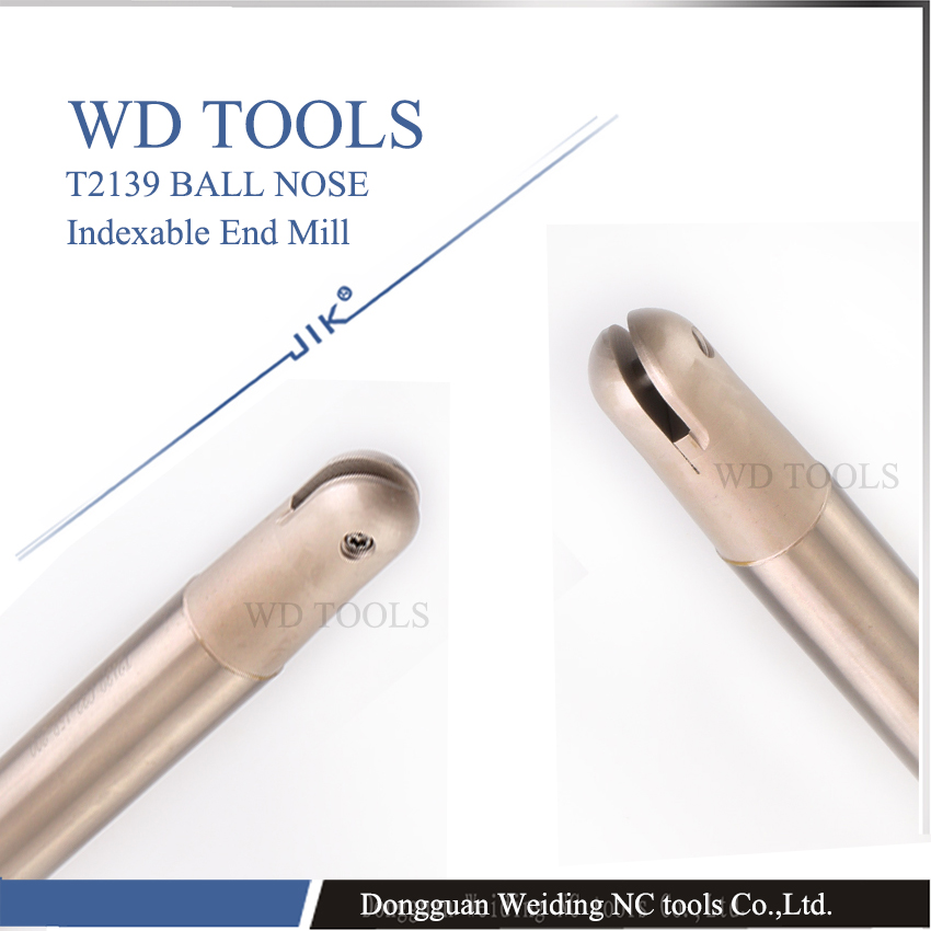 Free Shipping T2139 end mill C12 Insertable Ball Finish End Mill Cutting Tools,Lathe Machine Turning Tools,CNC Milling Cutter free shiping1pcs aju c10 10 100 10pcs ccmt060204 dia 10mm insertable bore drilling end mill cutting tools arbor for ccmt060204