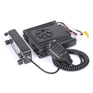 Image 5 - Zastone D9000 جهاز لاسلكي للسيارة محطة 50 واط UHF/VHF 136 174/400 520 ميجا هرتز اتجاهين راديو هام HF جهاز الإرسال والاستقبال