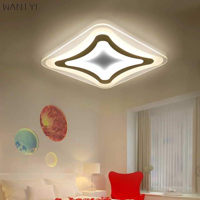 Aliexpress buy modern led square corridor ceiling light hall modern led square corridor ceiling light hall ceiling lamp design acrylic lighting fixtures decorative ultra thin aloadofball Image collections