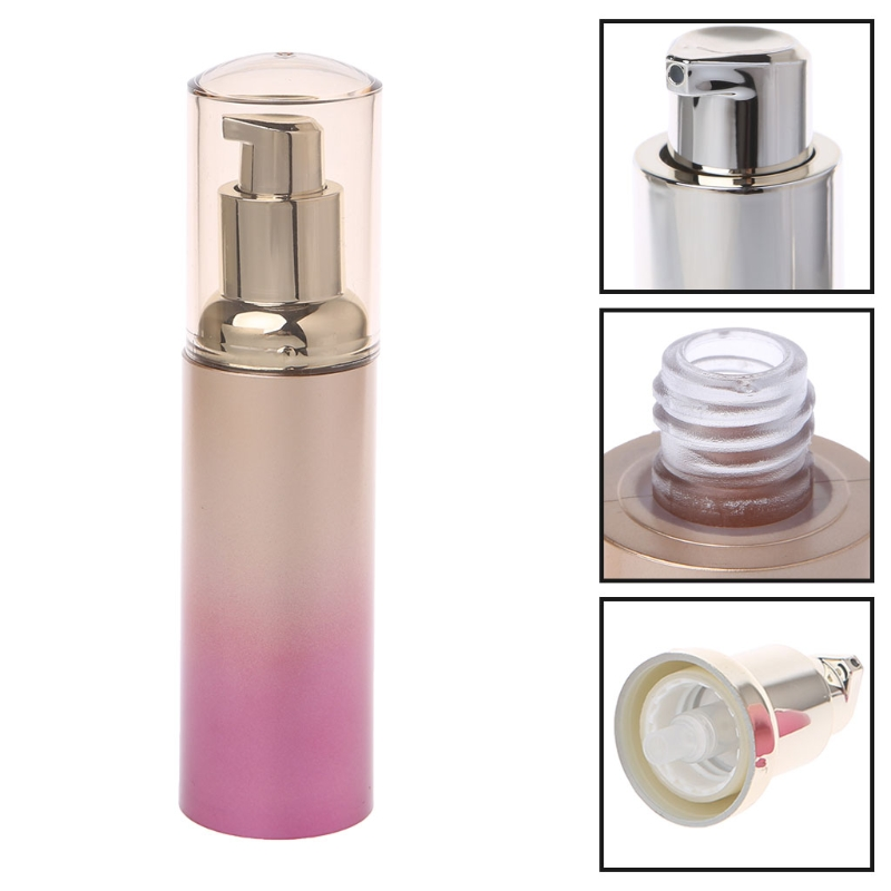 40ml Airless Pump Empty Bottles Portable Cosmetic Lotion Skincare Bottle Makeup