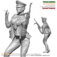 1/18 German Sexy Women Officers and Soldiers YFWW 1810