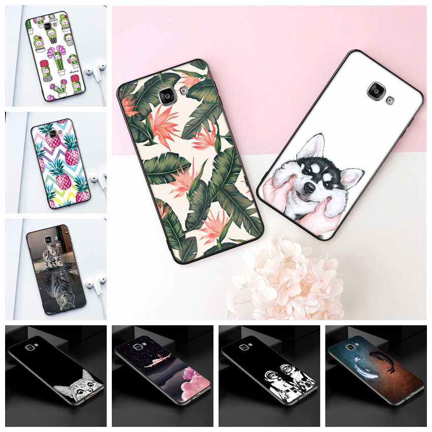 GerTong Soft TPU Patterned Case For Samsung Galaxy S9 S8 Plus A9 A6 A8 Plus J4 J6 2018 J5 J7 A7 A5 2017 Note 8 9 Silicone Cover