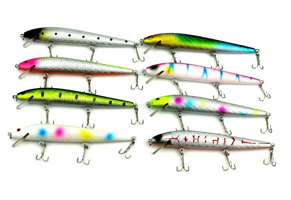 1PC 14CM 15.8G 6#hooks NEW Crank Bait Minnow Fishing Lure Bass Fishing Tackle Fishing Tool hard bait lure with 3 hooks