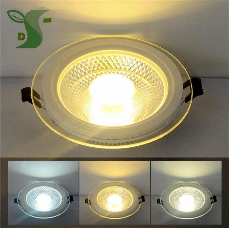 5 Вт 10 Вт 15 Вт LED Подпушка свет COB затемнения вел Панель свет AC85-265V утопленное Подпушка огни квадратный с драйвером 20 шт./лот