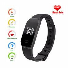Finefun E02 умный Браслет фитнес-трекер часы крови Давление Smart s браслет Samrt для Iphone, Android PK M2 SmartBand