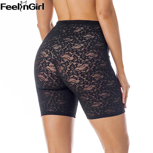 FeelinGirl Summer Lace Sexy Slimming Panties Waist Tummy Control Panties Breathable Slim Butt Lifter Shapewear -C5