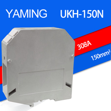2pcs/lot UKH-150N(UK-50N) 150mm2 Square 308A Connection Terminal Voltage Lug Plate Guide Type