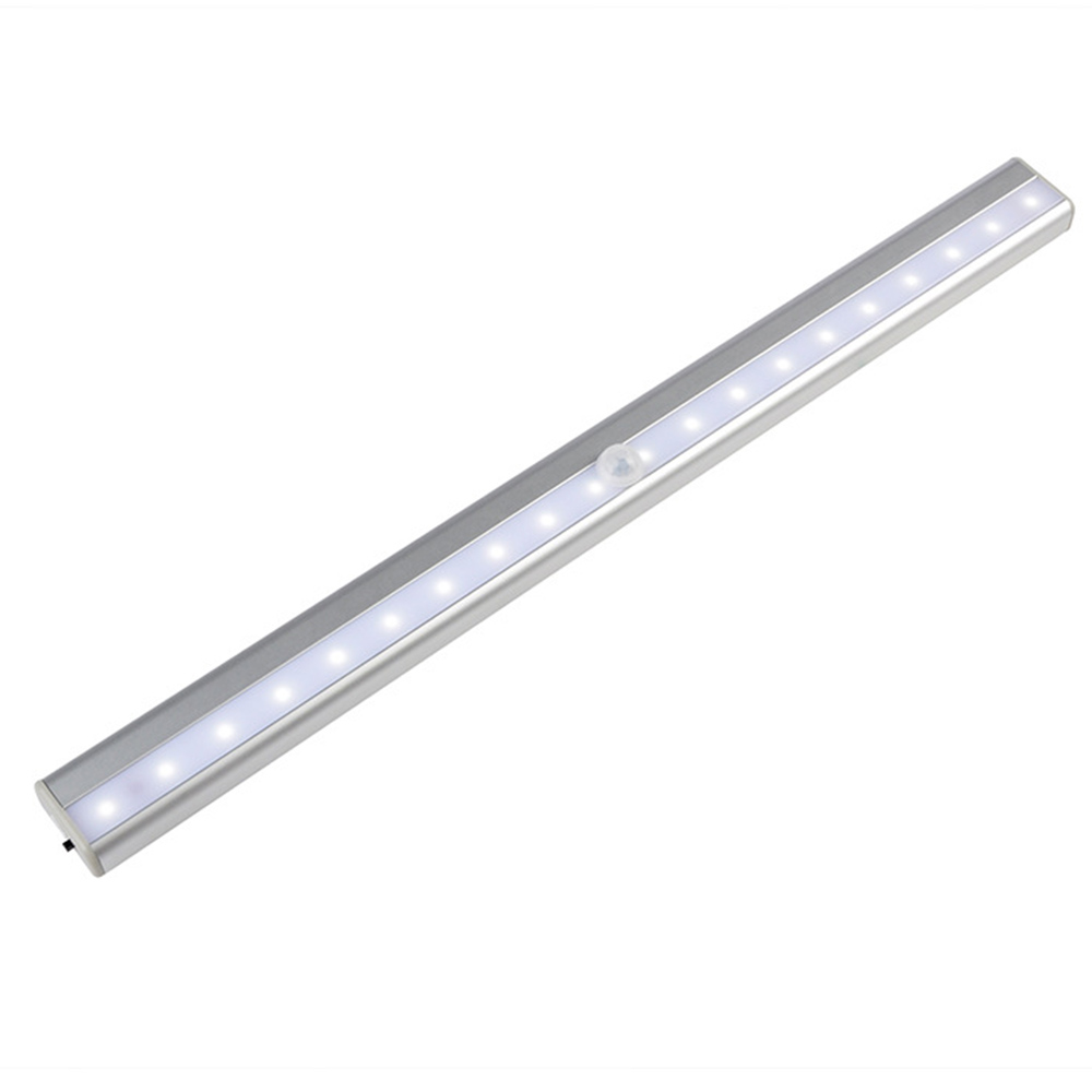 GO OCEAN Under Cabinet Lights Kitchen Lighting IR Motion Sensor 20 LEDs Night Lamps USB Chargeable Stair Light Closet Lamp (30)