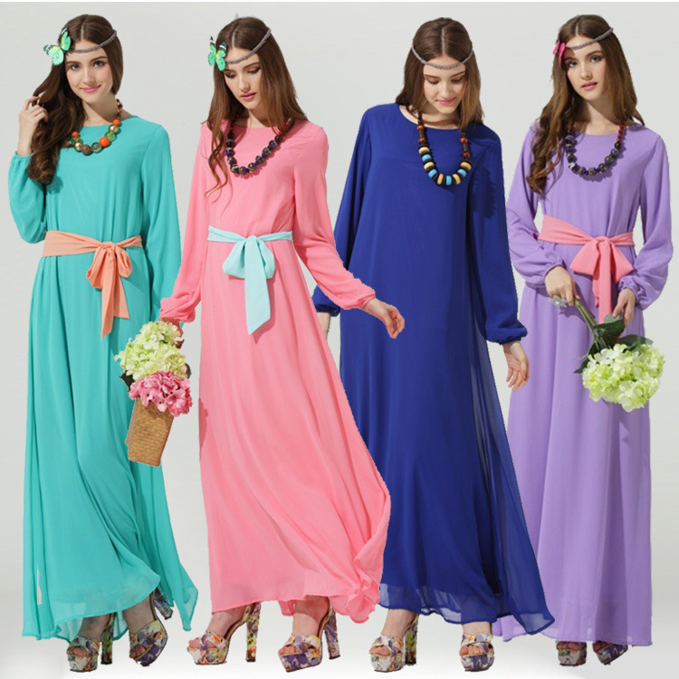 Popular Muslim Dress Code-Buy Cheap Muslim Dress Code lots from ...