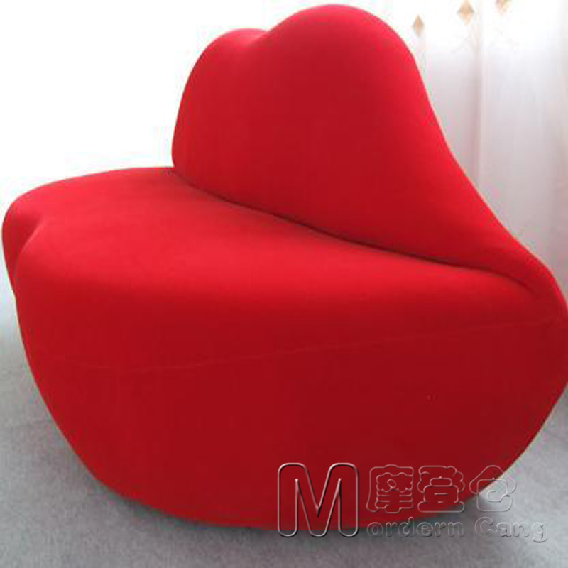 Red Lips Sofa Small Apartment Living Room Sofa Cafe Salons Beanbag Sofa  Double Seat Sofa In Office Sofas From Furniture On Aliexpress.com | Alibaba  Group