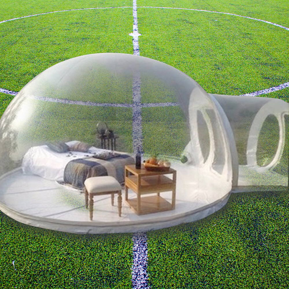 Gonflable Bulle Camping Tente Gonflable en plein air tente