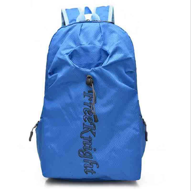 Wholesale Portable Folding Out door Sports Backpack With Waterproof Nylon Skin Mountaineering Bag 25L 40L Students Backpack