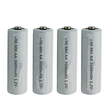 10/12 pcs AA 3600mAh Pre-Charged Rechargeable Batteries Ni-MH Rechargeable aa Battery For Microphone  Toys Camera цена