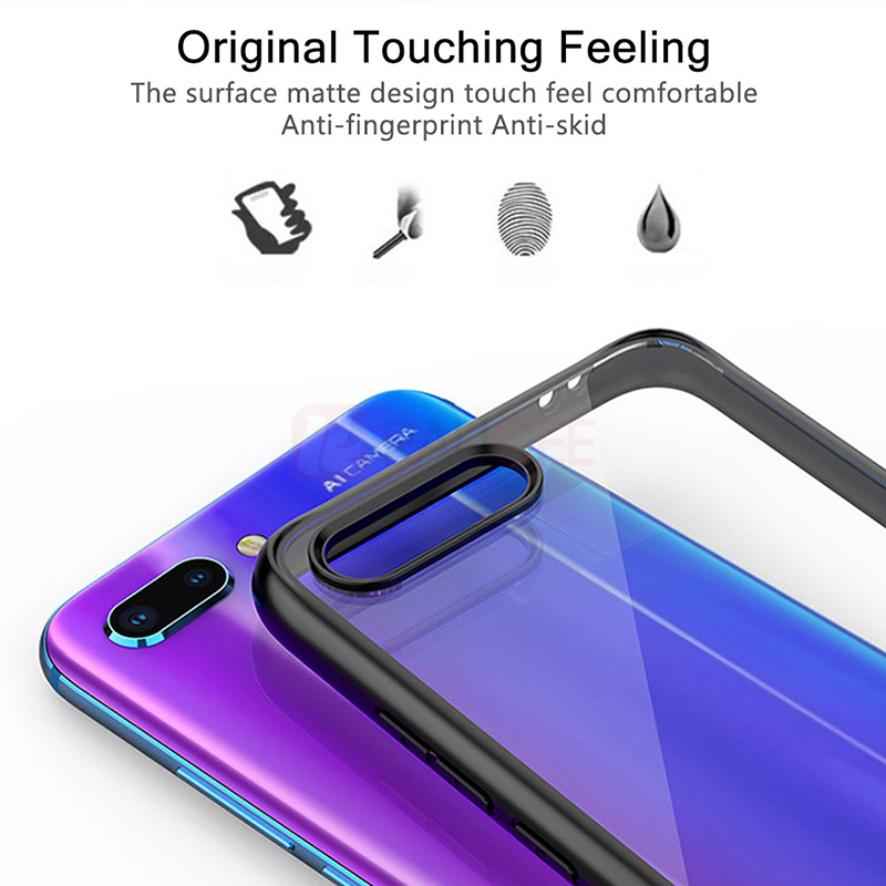 Case For Honor 10 Case Shockproof Rugged Bumper Transparent Soft TPU Silicon Phone Protector Cover For Huawei Honor 10 Case