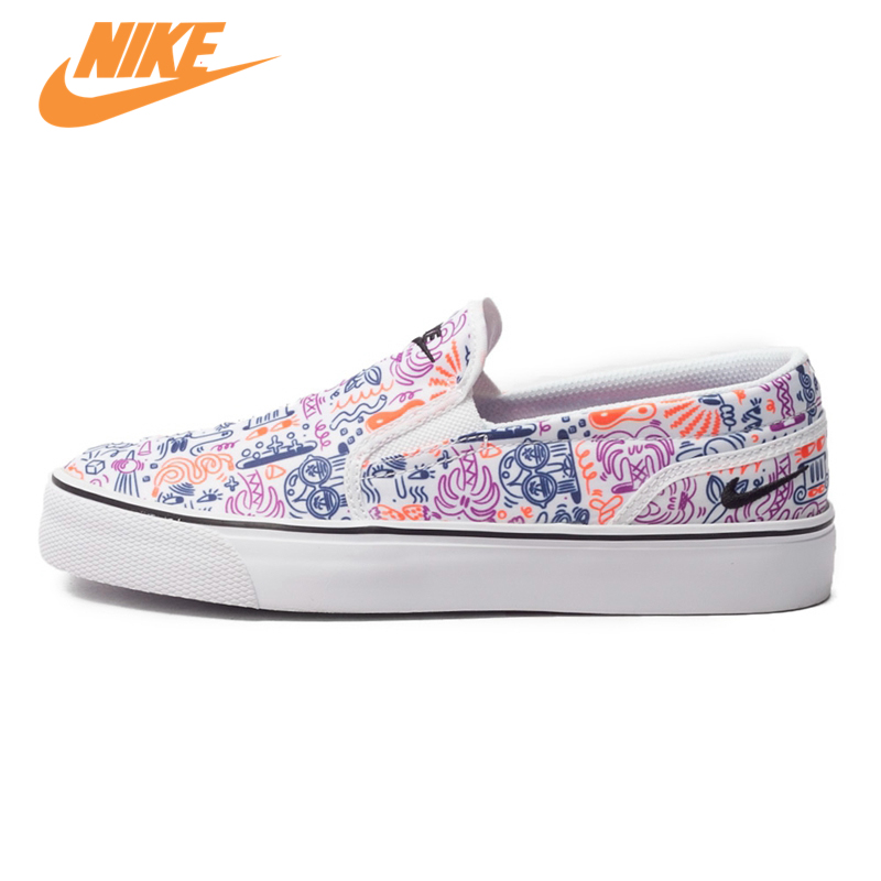 Original New Arrival Toki Slip NIKE Womens Light Comfortable Skateboarding Shoes Sneakers Trainers