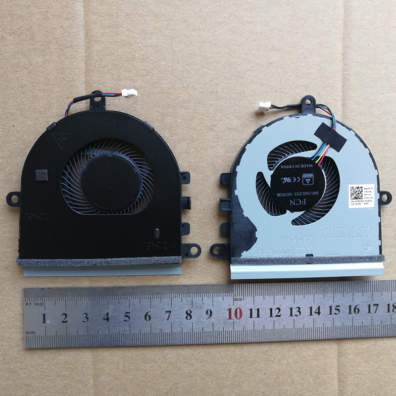 New laptop cpu cooling fan for DELL Inspiron 15-5575 5570 07MCD0 image