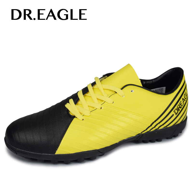 DR.EAGLE Professional Men Turf Indoor Soccer Shoes Cleats Original Superfly futsal futzalki for football Boots shoes Sneakers