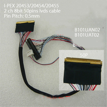 I PEX 20455 2ch 8 bit 50Pins LVDS Cable For B101UAN02 B101UAT02D8 0.5mm Pitch LED Display Panel Controller 1920x1200