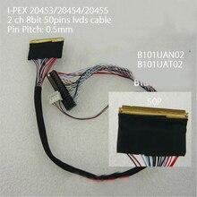 I PEX 20455 2ch 8 bit 50Pins LVDS kablosu B101UAN02 B101UAT02D8 0.5mm Pitch LED ekran paneli denetleyici 1920x1200