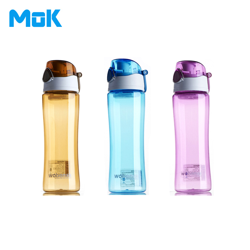 Pu'er Tea + Portable Plastic Sport Bidon Dual Locked Leak Proof 600ml Met Fliter Bicycle Fruit My Transparent Brand Bottle