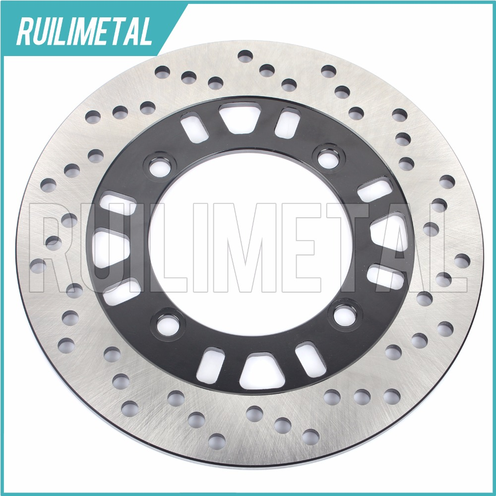 Rear Brake Disc Rotor for KAWASAKI ZX12 R ZX6 R Ninja ZR 750 Zephyr GPX 750 R 1986 1987 1988 1989 1990 86 87 88 89 90 motorcycle front rear brake pads for kawasaki gpx 600 r zx600 1988 1996 gpx 750 r zx750 1987 1989 zr750 1991 1995 zx100 zx10 p04