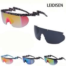 Fashion Neff Sunglasses Men Brand Designer women uv400 Big Frame Coating Sun Glasses 2 Lens oculos de sol feminino Eyewear