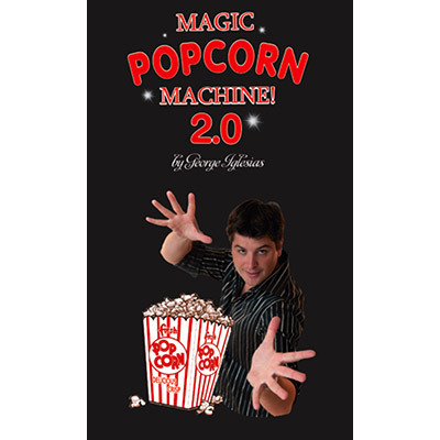 Electronic edition Popcorn 2 0 Magic DVD and Props  Magic Trick made in China trick