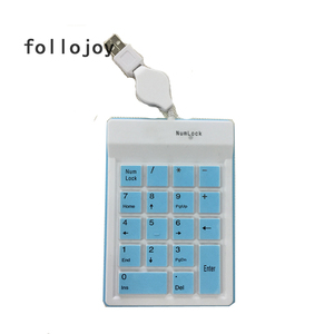 Image 3 - Silicone numeric keypad replacement keyboard ultra thin 18 key air touch wired USB port