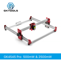 GKTOOLS All Metal 45*45cm 500mW,2500mW Wood Mini CNC Laser Engraver Cutter Engraving DIY Machine PWM,Benbox GRBL EleksMaker