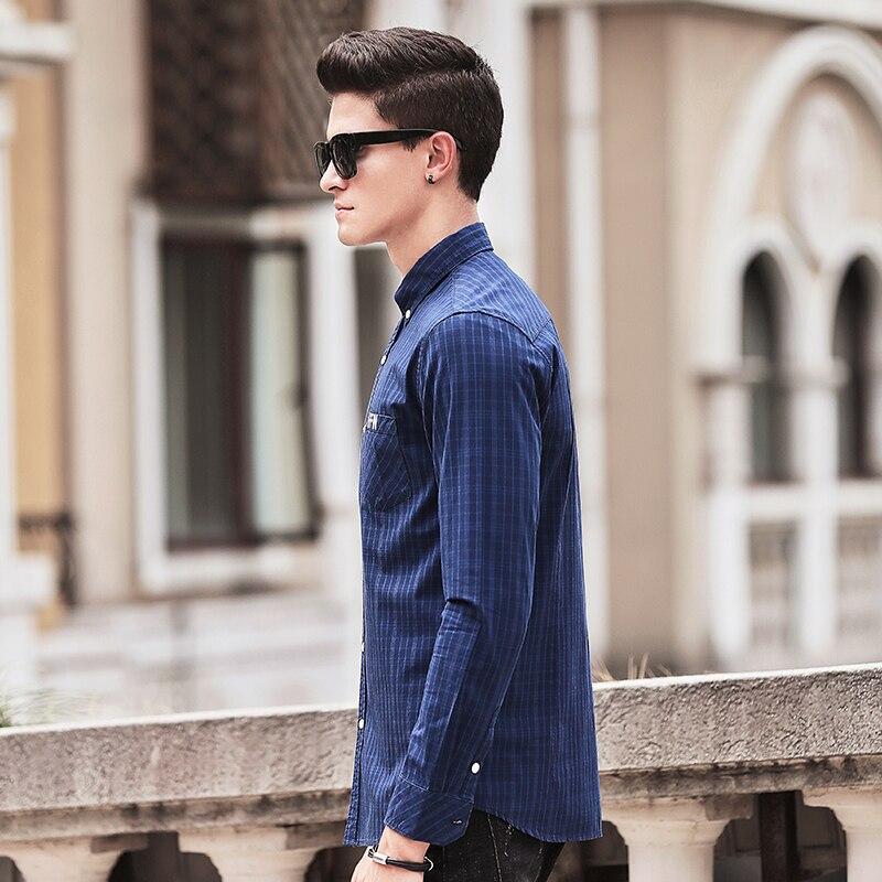 Pioneer Camp chemise à carreaux hommes manches longues nouvelle - Vêtements pour hommes - Photo 3