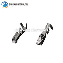 все цены на 100 PCS 2.8 series automotive connector connector tinned copper terminal DJ623-E2.8B  plug socket онлайн