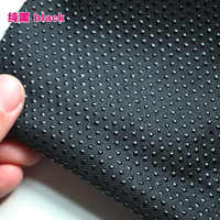 "Black Anti-slip Vinyl Non Slip Fabric Rubber Non Skid Rubber Treated Fabric 58"" wide Sold By The Yard"