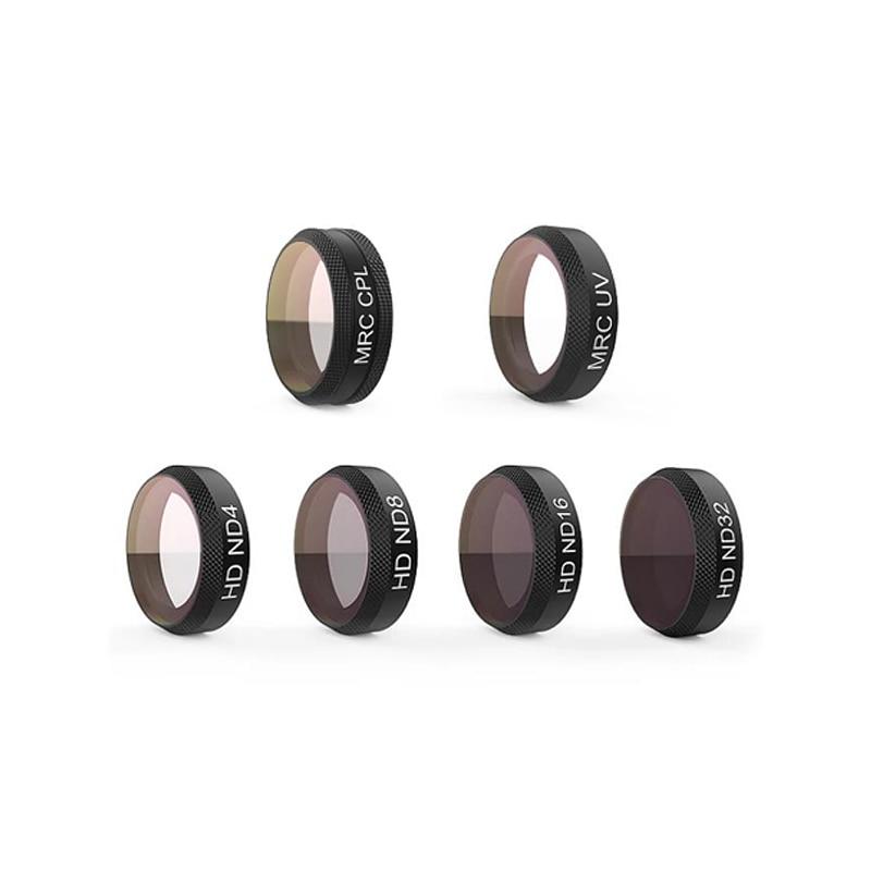 Mavic Air Lens HD Filter UV CPL ND4 ND8 ND16 ND32 ND4-PL ND8-PL ND16-PL Filter Kit for Mavic Air Camera Original Accessories стоимость