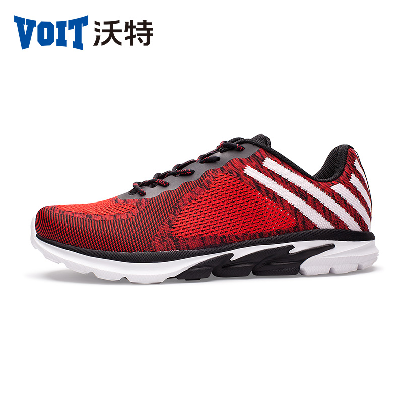 все цены на 2017 VOIT Men & women Light Sport Sneaker Breathable Mesh Athletic Outdoor Shoes lace-up Running Shoes 71T6223 онлайн