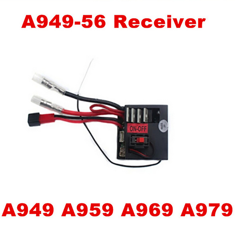 WLtoys A949 A959 A969 A979 1/18 4WD RC Car Spare Parts Receiver A949-56 Free Shipping  WLtoys A979 Receiver wltoys rc car spare parts a959 b 01 1 18