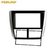 FEELDO Car 2DIN Refitting Radio Stereo DVD Frame Fascia Dash Panel Installation Kits Conversion For Subaru Forester/Impreza