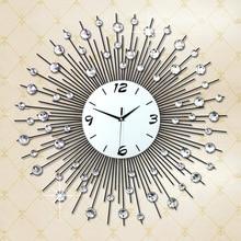 Luminousness 75cm oversized living room wall clock modern fashion brief silent watch quartz clock